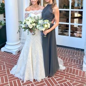 High Neck Bridesmaids Dress (multiple available)